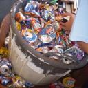 Hands in recyling